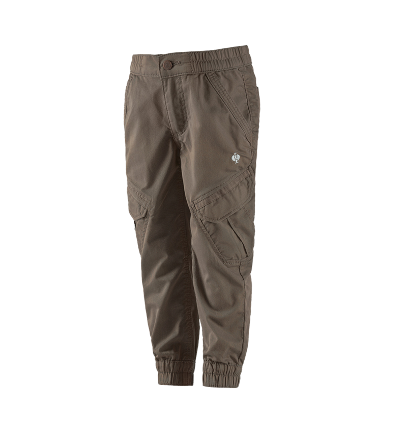 Trousers: Cargo trousers e.s. ventura vintage, children's + umbrabrown