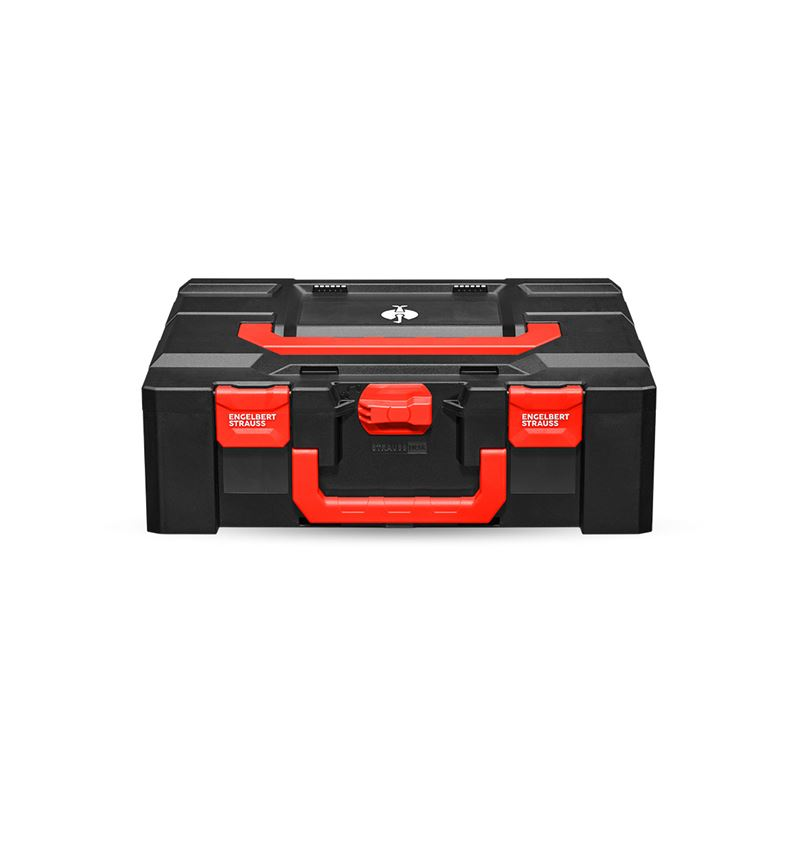 Tool Cases: STRAUSSbox 165 large + black/red