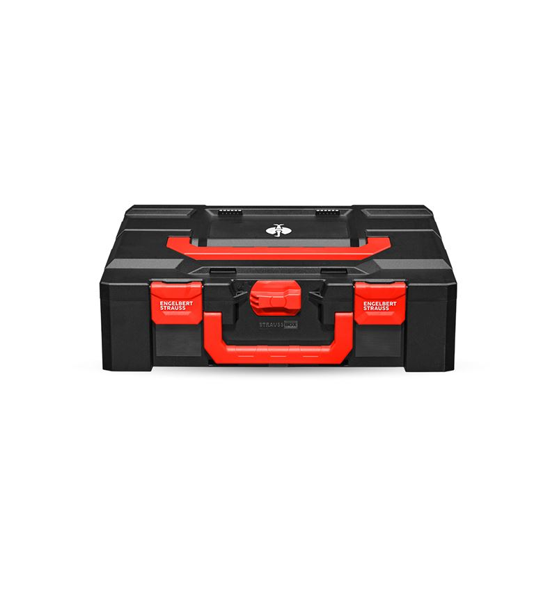 Tool Cases: STRAUSSbox 145 large + black/red