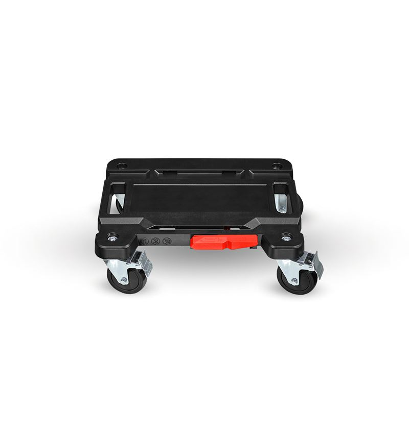 Tool Cases: STRAUSSbox cart + black/red