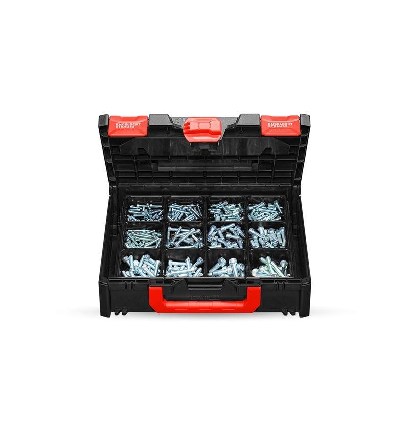 Schrauben: Zylinderschrauben-Sort. ISO 4762 STRAUSSbox midi