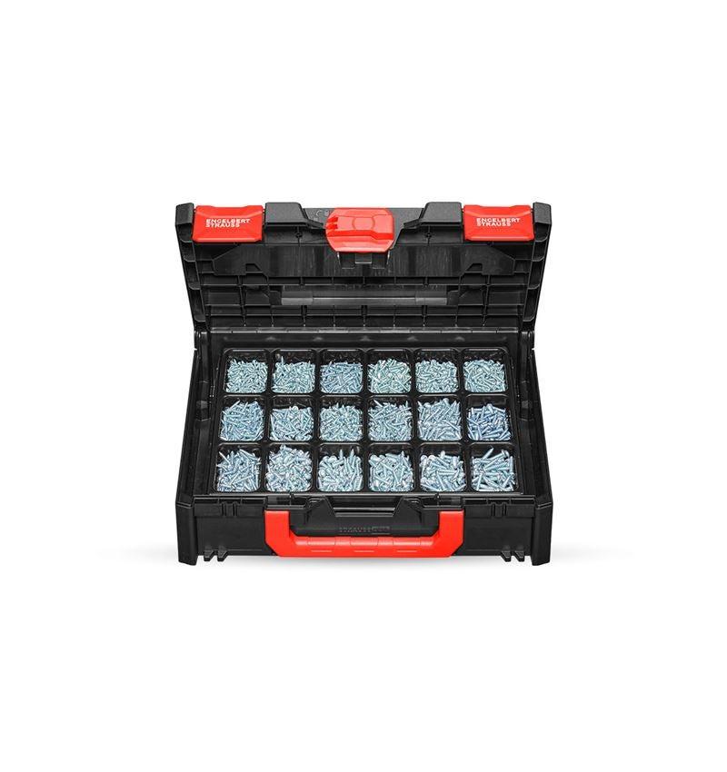 Schrauben: Blechschrauben DIN 7981 verz. STRAUSSbox 118 midi