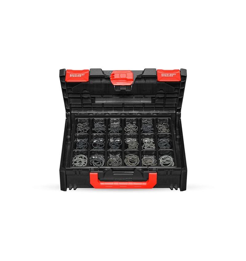 Kleinteile-Sortimente: Sicherungsringe DIN 472 in STRAUSSbox 118 midi