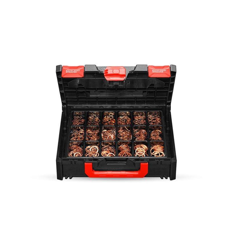 Kleinteile-Sortimente: Dichtringe DIN 7603 A in STRAUSSbox 118 midi