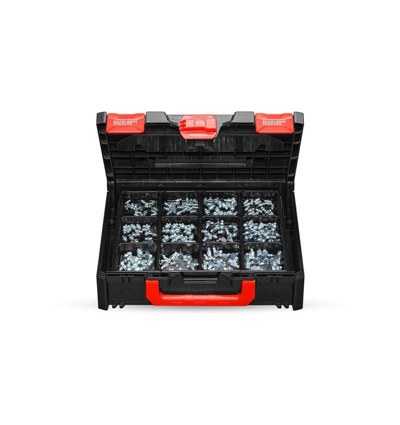 Kleinteile-Sortimente: Schmiernippel-Sortiment in STRAUSSbox 118 midi