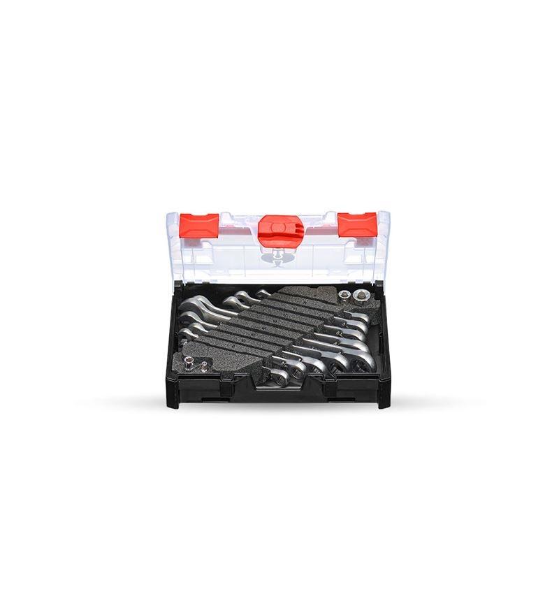 Schraubenschlüssel: Ratch-Tech-Satz, umschaltbar in STRAUSSbox mini