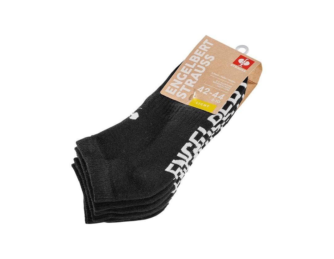 Socks: e.s. Allround socks Classic light/low + black