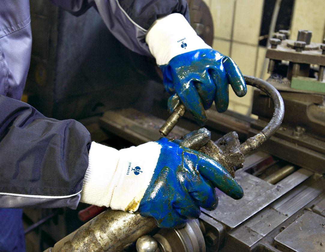 Beschichtet: Nitril-Handschuhe ESH N640