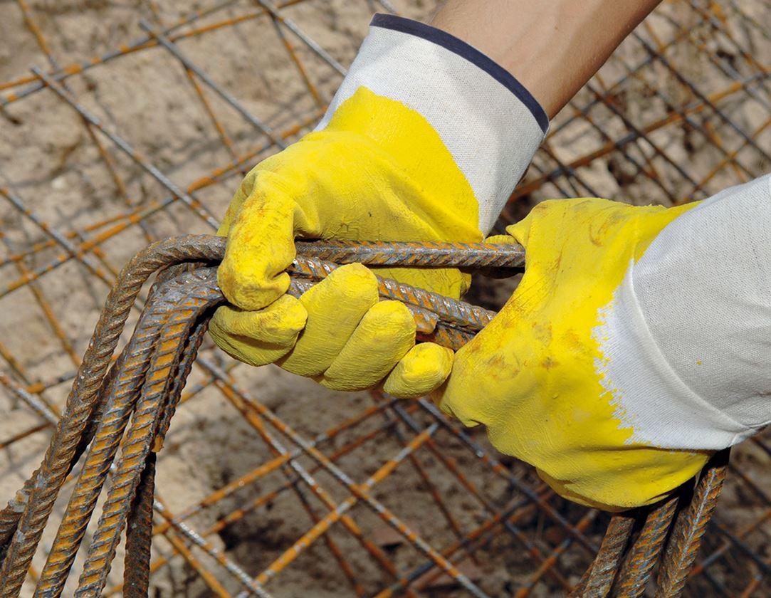 Beschichtet: Latex-Handschuhe, Stulpe, 12-er Pack