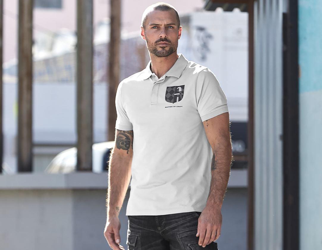 Shirts & Co.: e.s. Polo-Shirt Masters of Craft + kristallgrau