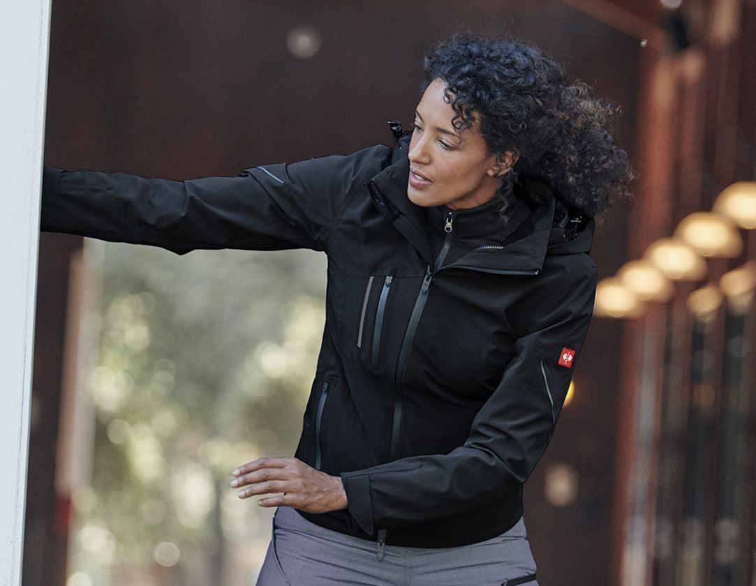 Vestes de travail: Veste de fonction 3 en 1 e.s.vision, femmes + noir