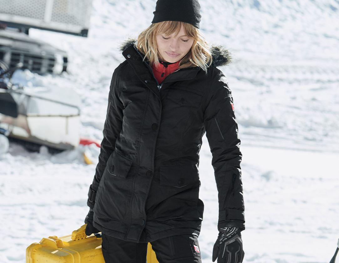 Jacken: Winter Parka e.s.vision, Damen + schwarz