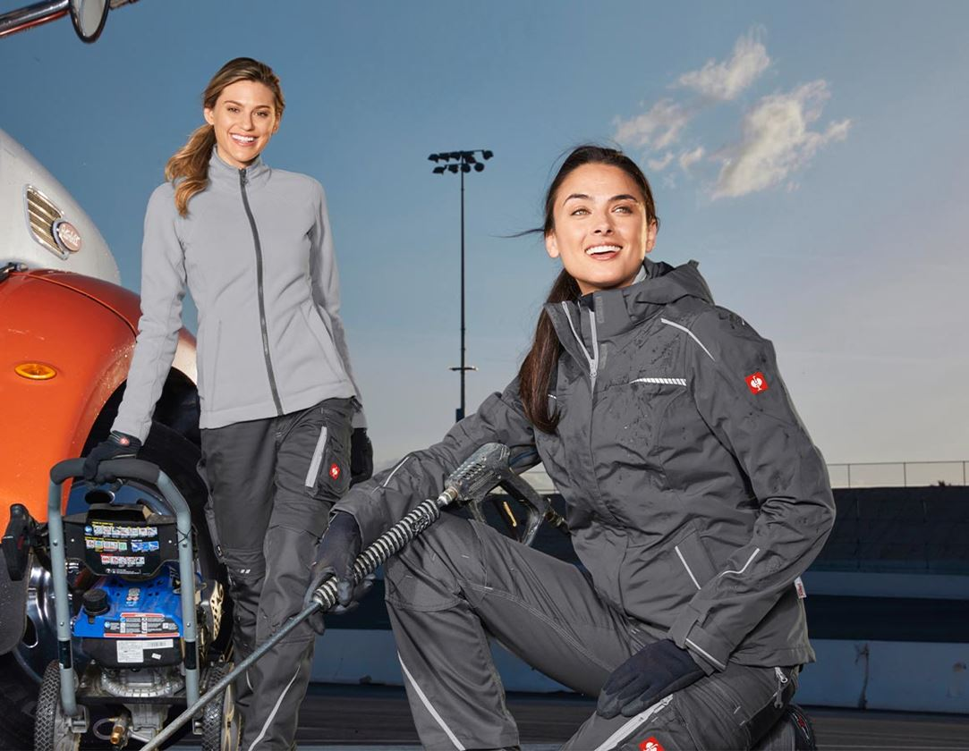 Work Jackets: 3 in 1 functional jacket e.s.motion 2020, ladies' + anthracite/platinum