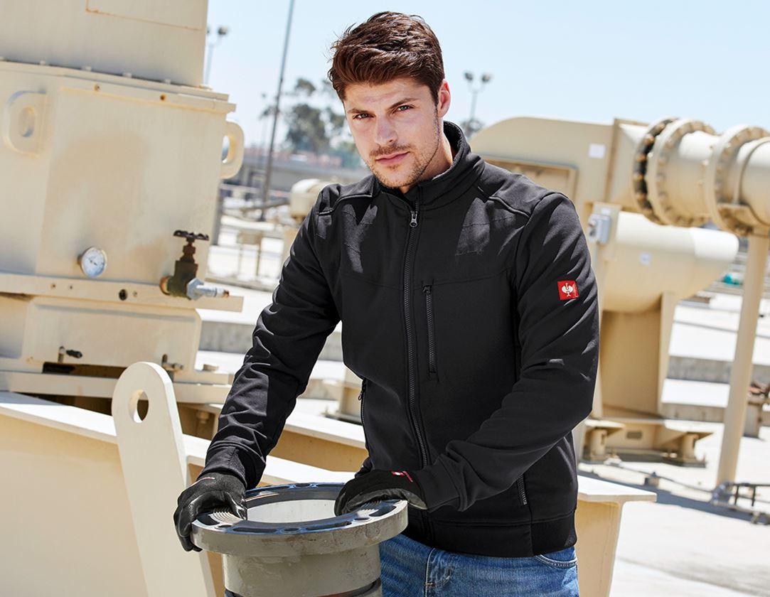 Work Jackets: Jacket shellloft e.s.dynashield + black