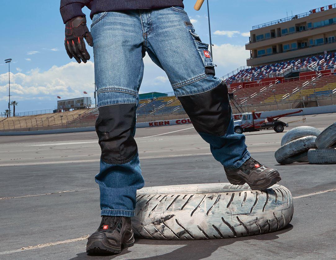 Trousers: Jeans e.s.motion denim, children's + stonewashed