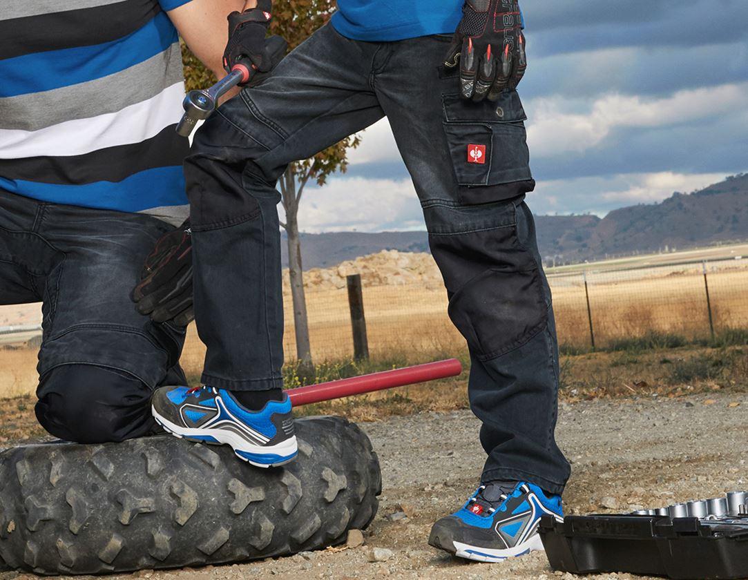 Trousers: Jeans e.s.motion denim, children's + graphite