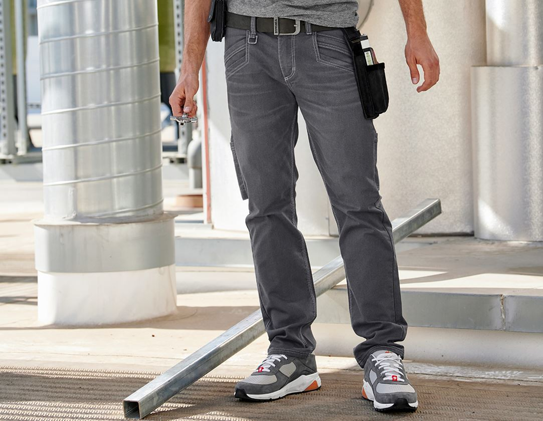 Work Trousers: Multipocket trousers e.s.vintage + pewter