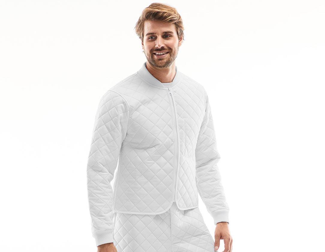 Underwear   Functional Underwear: Thermal jacket Amsterdam + white