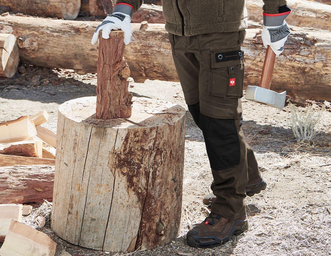 Work Trousers: Trousers e.s.roughtough + bark