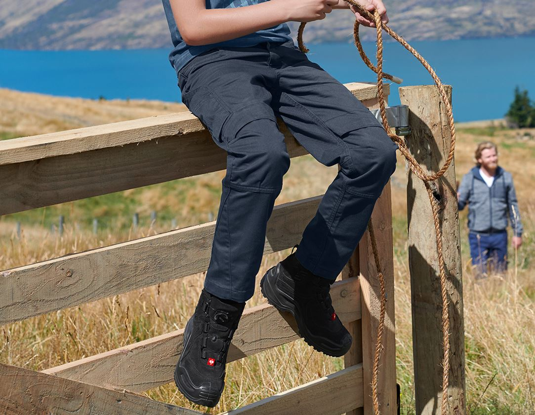 Trousers: Trousers e.s.motion ten, children's + slateblue
