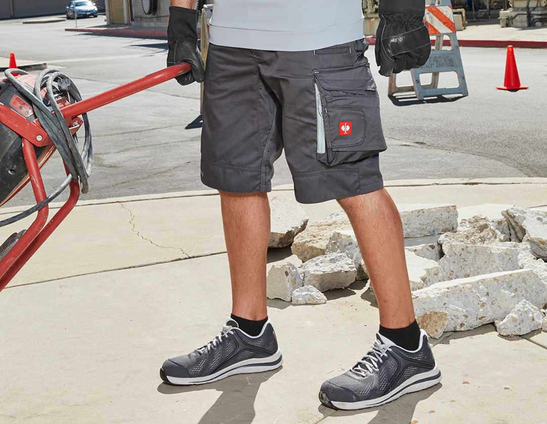 Work Trousers: Shorts e.s.motion 2020 + anthracite/platinum