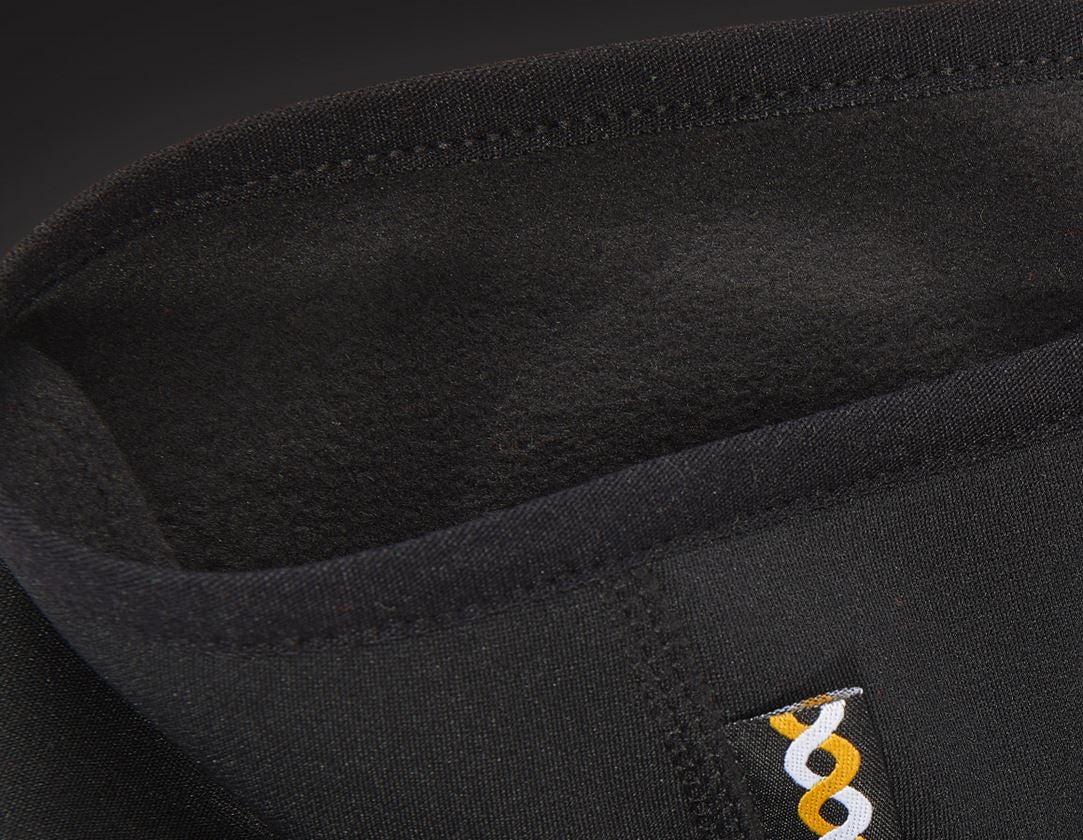 Accessoires: e.s. FIBERTWIN® thermo stretch Stirnband + schwarz 2