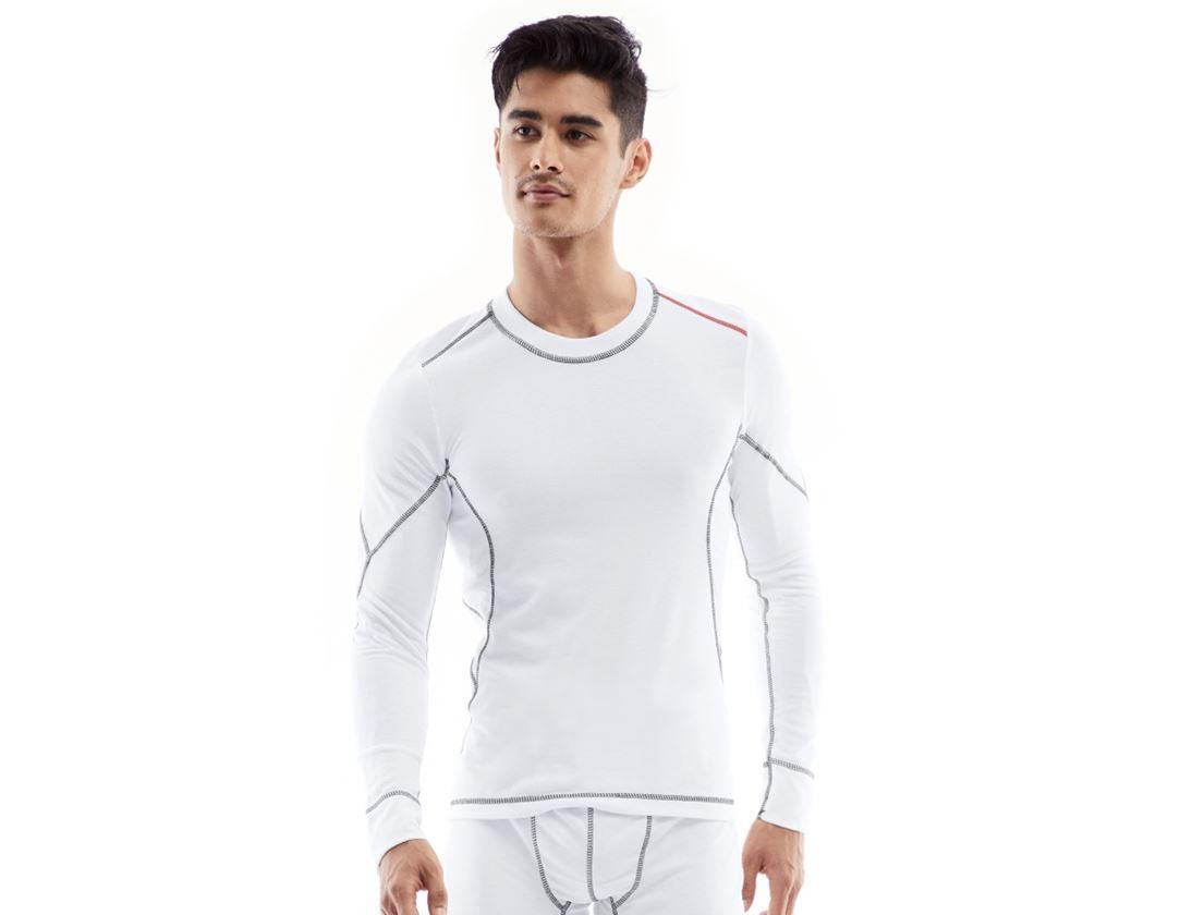 Underwear   Functional Underwear: e.s. functional-longsleeve basis-light + white