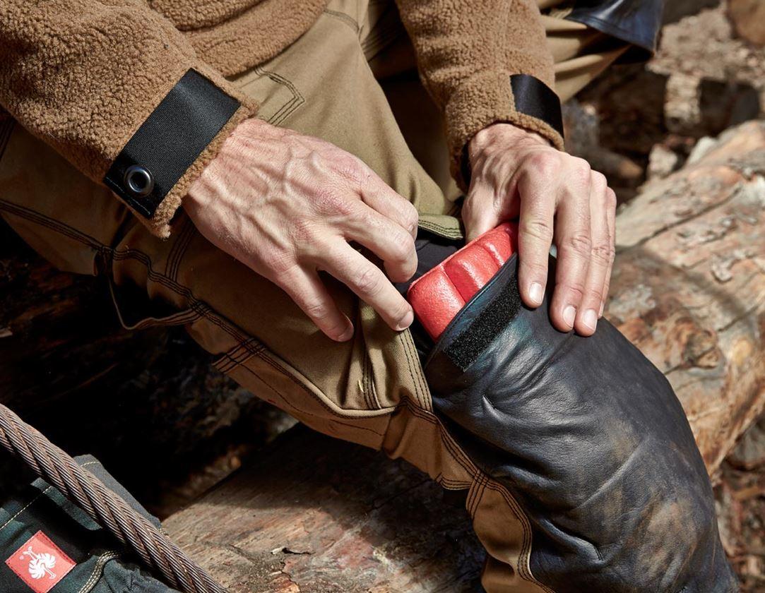 Protection du genou: e.s. Protection genou + rouge