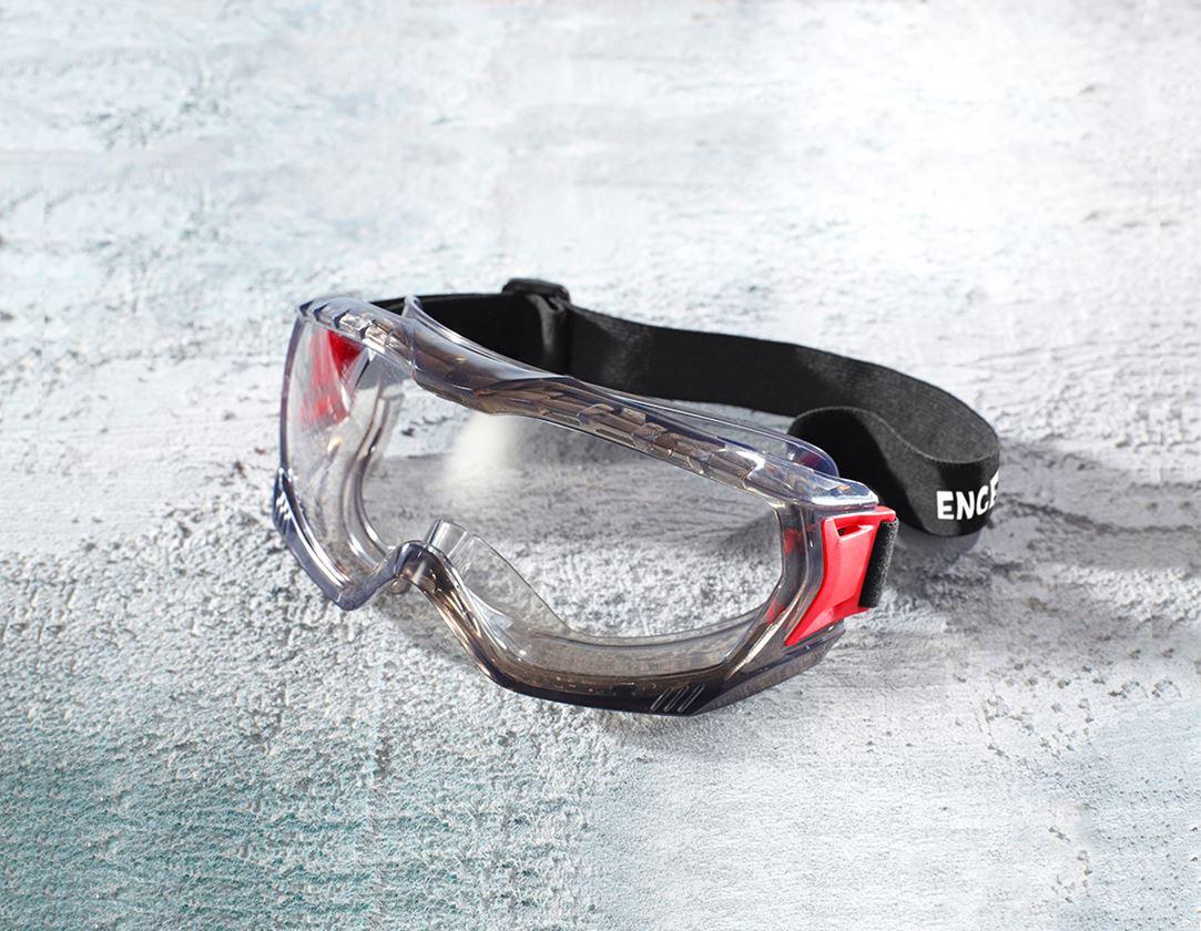 Safety Glasses: e.s. Safety glasses Odas + clear