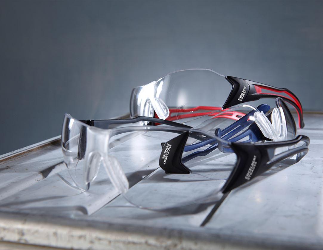 Safety Glasses: e.s. Safety glasses Abell + graphite/black