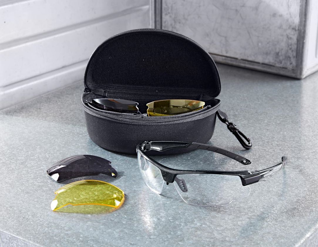 Safety Glasses: e.s. Safety glasses Finlay