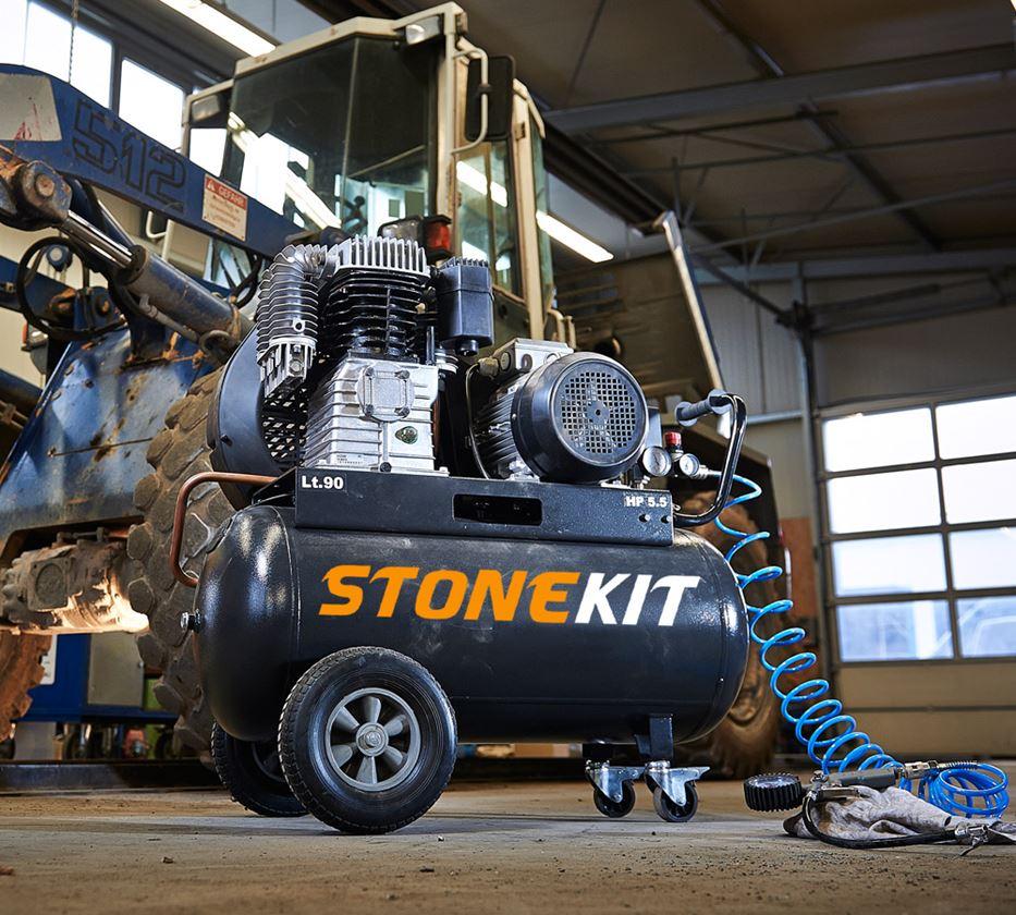 Outils électriques: STONEKIT Compresseur d'atelier 780 V