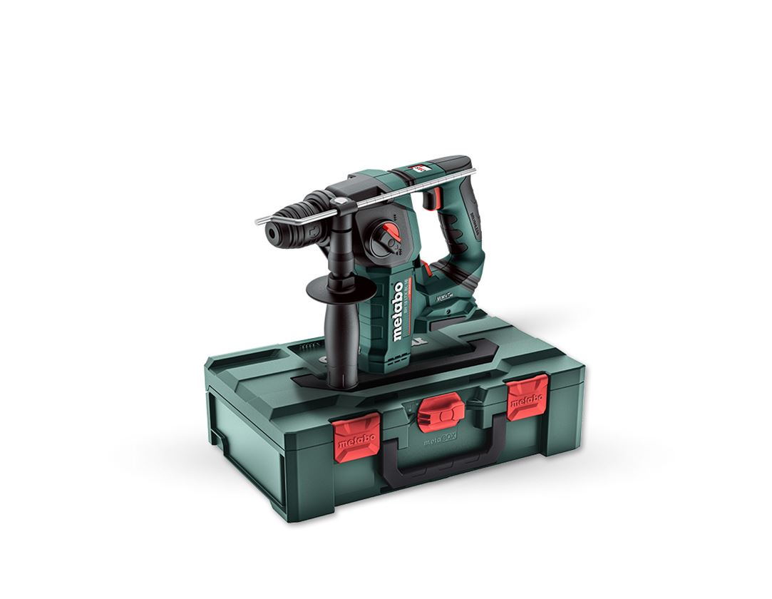Electrical tools: Metabo 18.0 V cordl. drill hammer BH BL 16 metaB