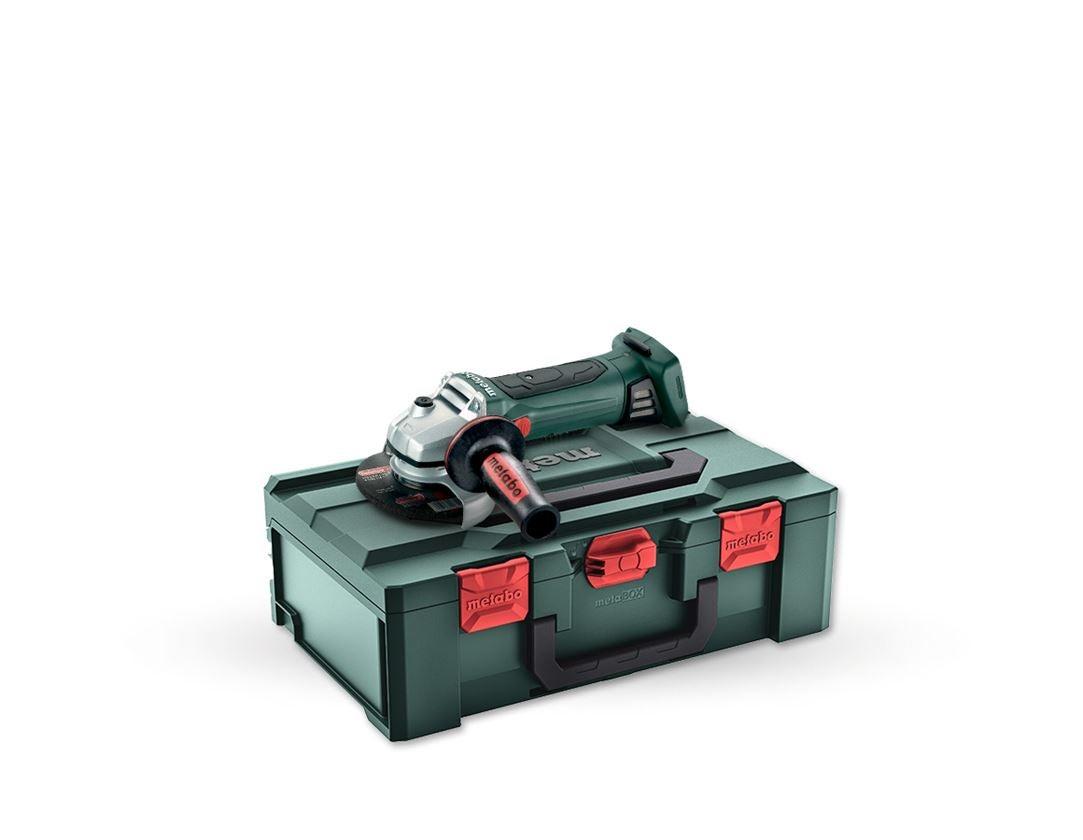 Outils électriques: Metabo Meuleuse d'angle batt. 18V Quick W125 Box