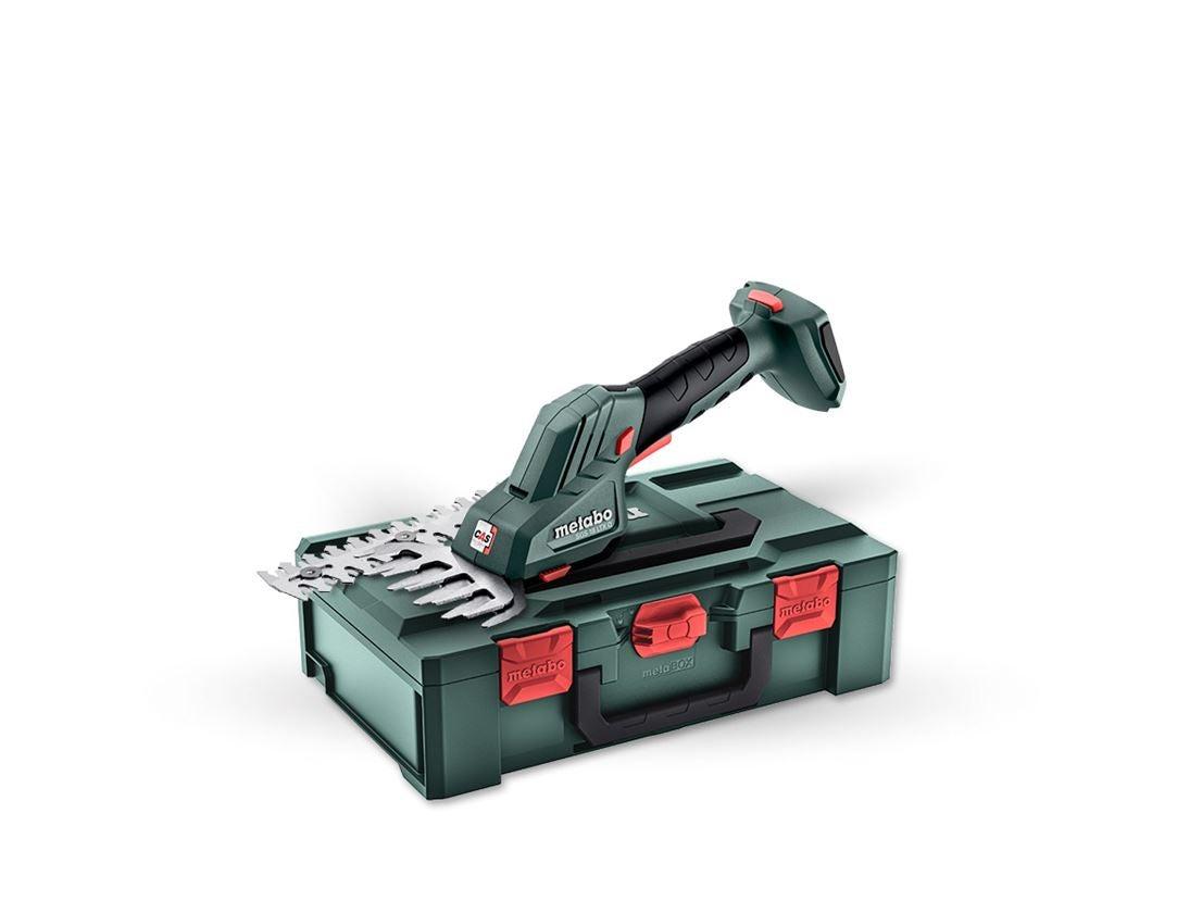 Elektrowerkzeuge: Metabo 18,0V 2 in 1 Akku-Strauch Schere SGS in Box
