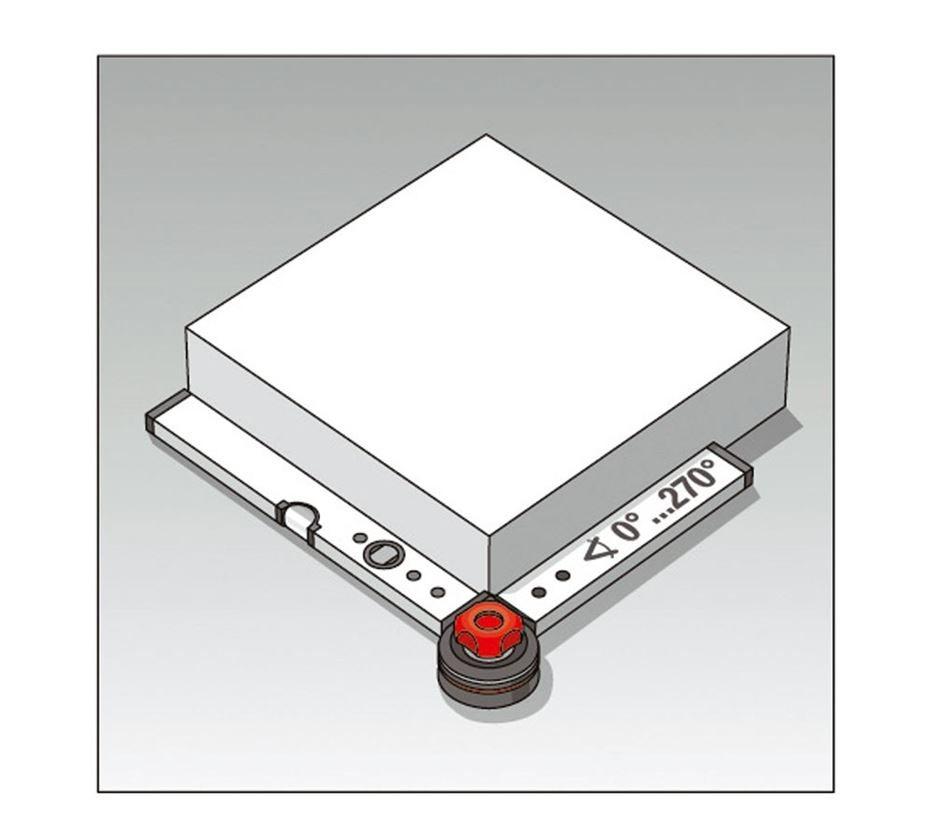 Measuring tools: BMI Bauwinkel mit Wasserwaage