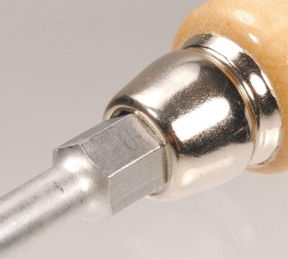 Schraubendreher: Schraubendreher-Satz mit Kraft-Holzgriff
