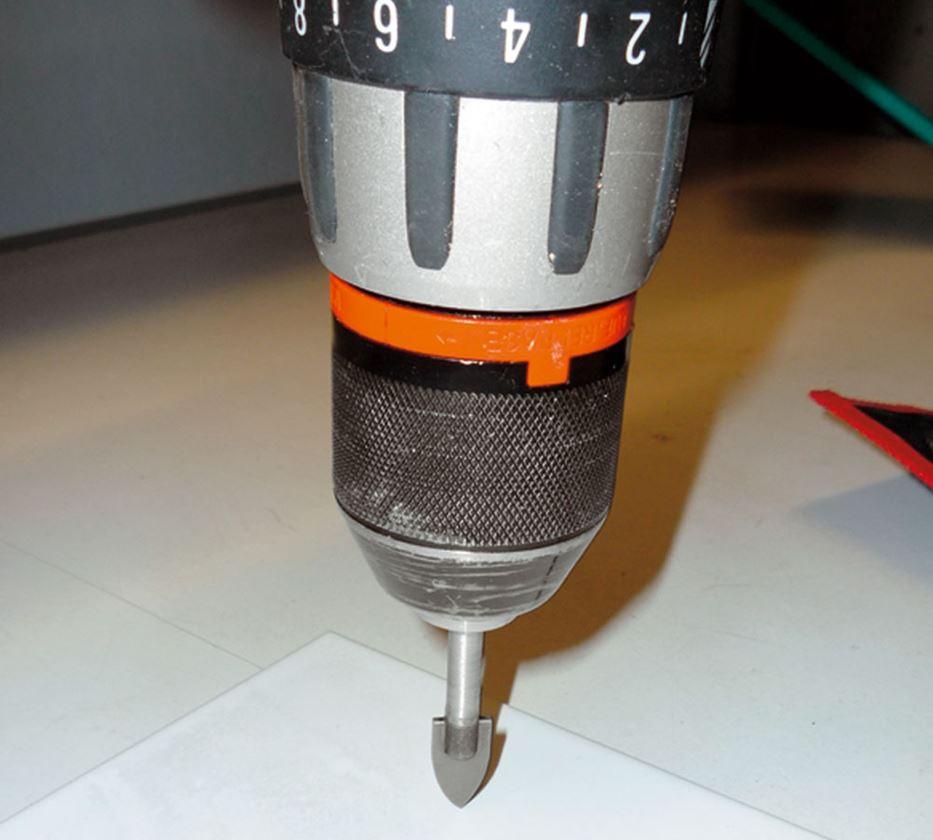 Drills: Tile / glass bit set