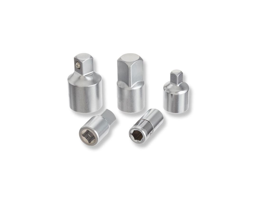 Socket wrench: e.s. Hex insert adapter set