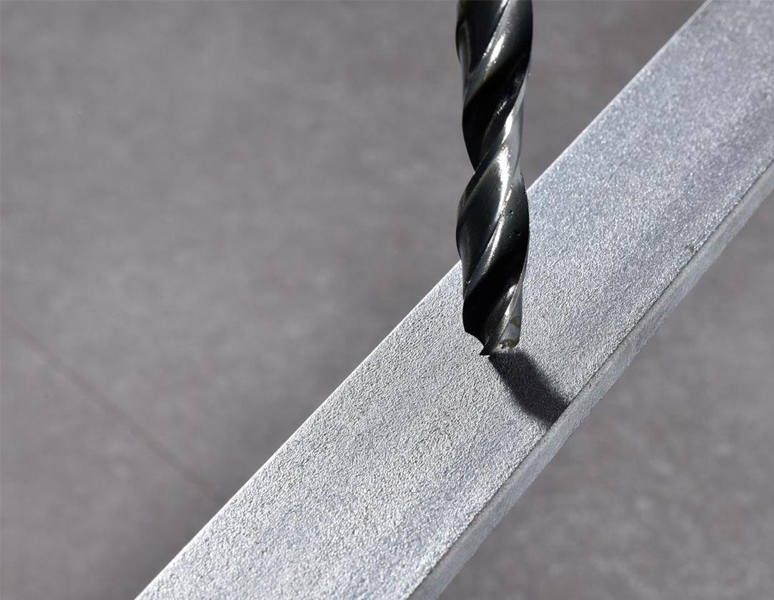 Drills: e.s. HSS-R metal spiral drill set eco
