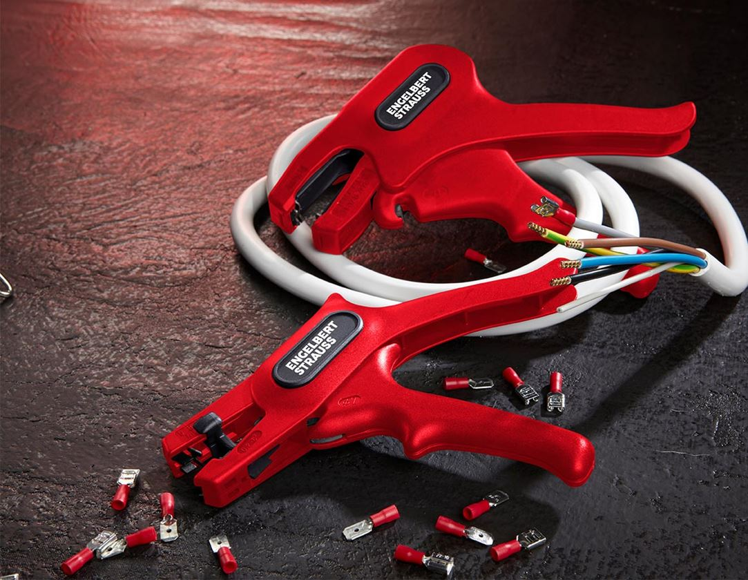 Tongs: Self-setting stripping pliers
