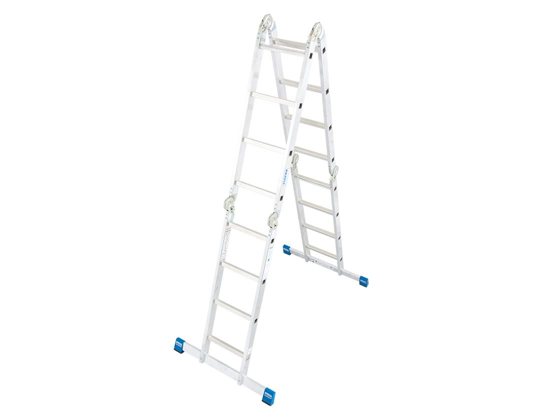 Ladders: KRAUSE STABILO Gelenk-Universalleiter (Aluminium)