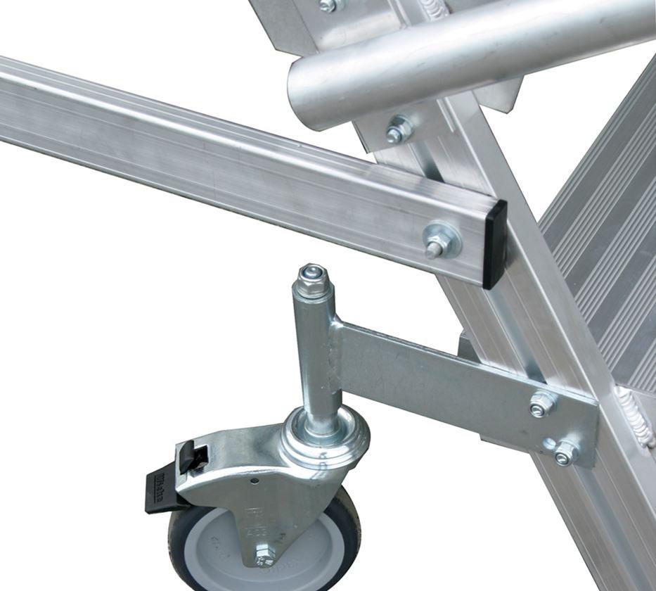 Ladders: KRAUSE Mobile platform ladder