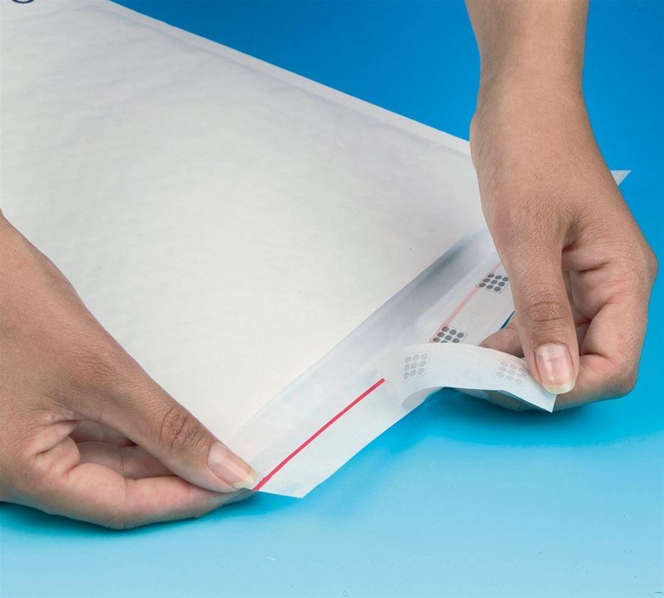 Papierprodukte: Luftpolsterversandtaschen + weiß