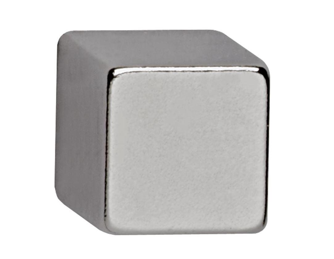Small parts: Neodymium cube magnet