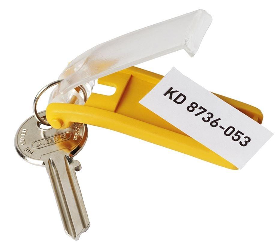 Stockage: Porte-clés KEY CLIP DURABLE, pack de 6 pièces + rouge