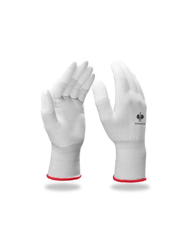 Beschichtet: PU-Microhandschuhe Sensitive