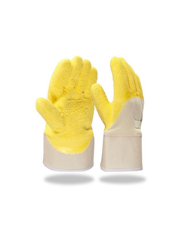 Beschichtet: Latex-Handschuhe Grip