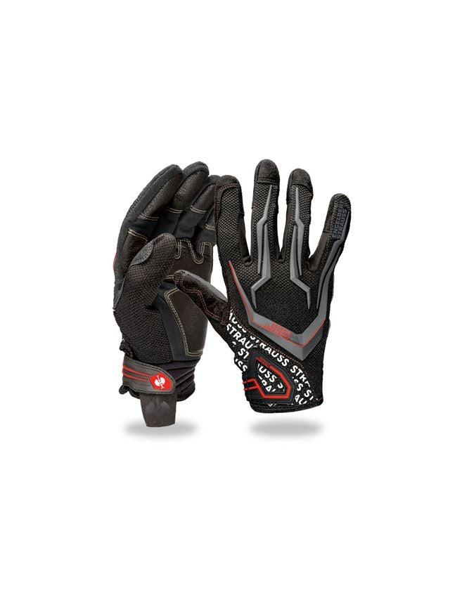 Hybrid: e.s. Mechanic's gloves Mirage + black/red