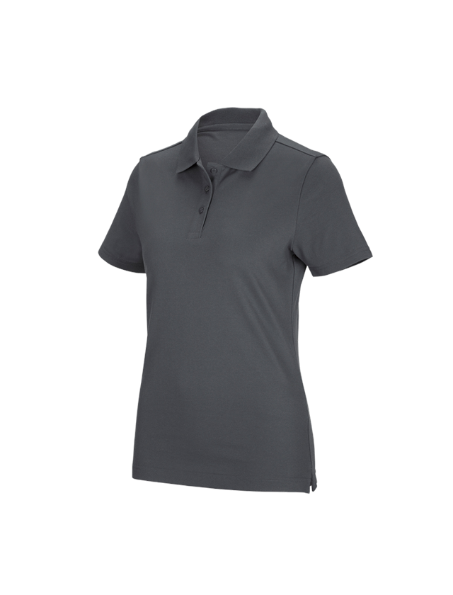 Shirts, Pullover & more: e.s. Functional polo shirt poly cotton, ladies' + anthracite